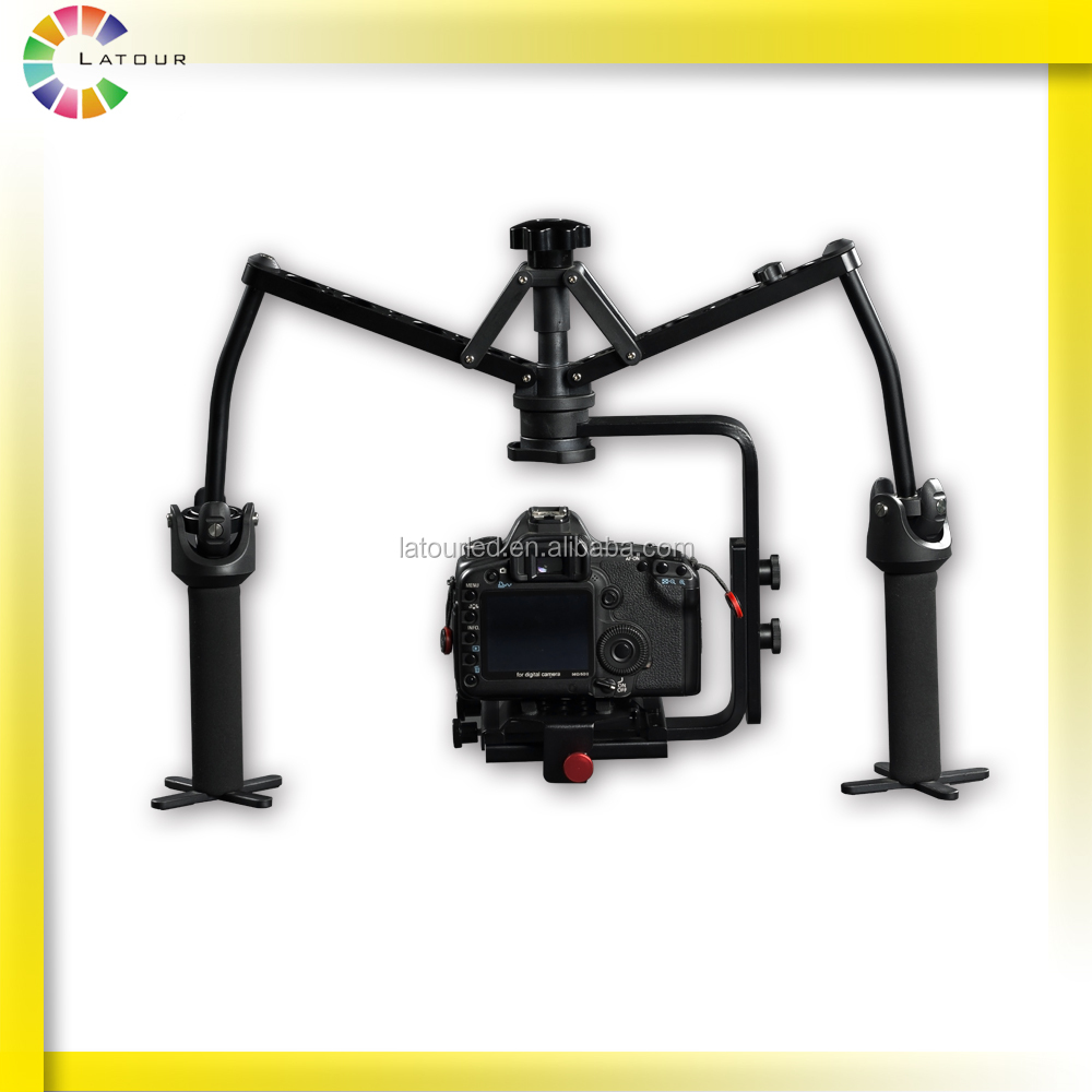 Mini gypo handheld gimbal dslr camera stabilizer for video film shooting