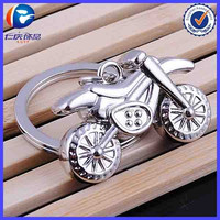 Metal Keychain Motorcycle Keychain Motocross Keyring