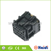 electrical connector pbt gf10 cable, male and female dc power electrical plug socket, 14 pin connector