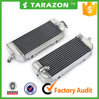 Chinese high performance CNC motorcycle engines parts radiators for dirt bike