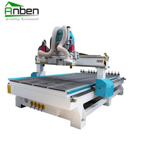 Vacuum table 1530ATC cnc router wood engraving machine for shanghai export