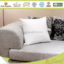 Sofa Cushion Square Pillow Down Feather Filling with Cotton Cover Cushion Insert