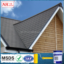 Water based heat absorbing paint for roof