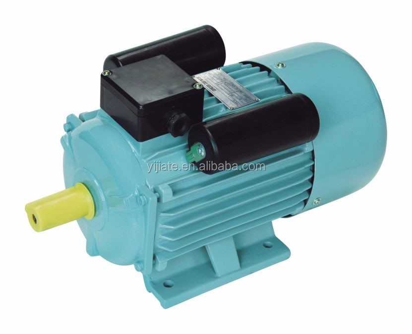 YC 132M2-4 7.5KW 10HP single phase electric ac motor, larger starting torque induction motor