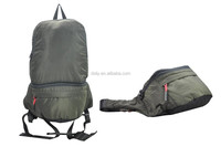 Promotional lightweight foldable backpack / Travelling Folded backpack Bags