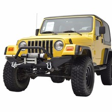 Kin4x4 87-06 Texture Powder Coating Finished Front Bumper for JEEP WRANGLER
