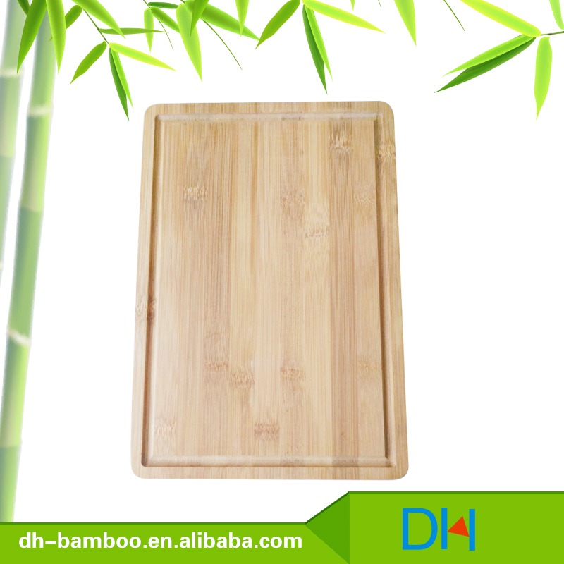 Bamboo Cutting Boards with groove, Kitchen tools wooden Chopping Blocks