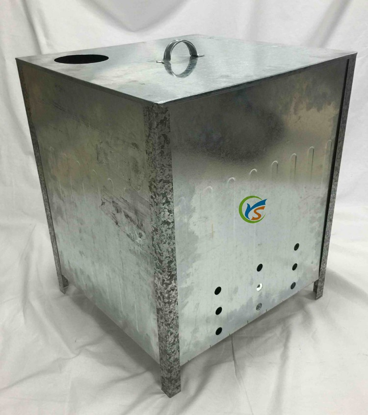 Wholesale Galvanised Steel 100L Household Waste Incinerator