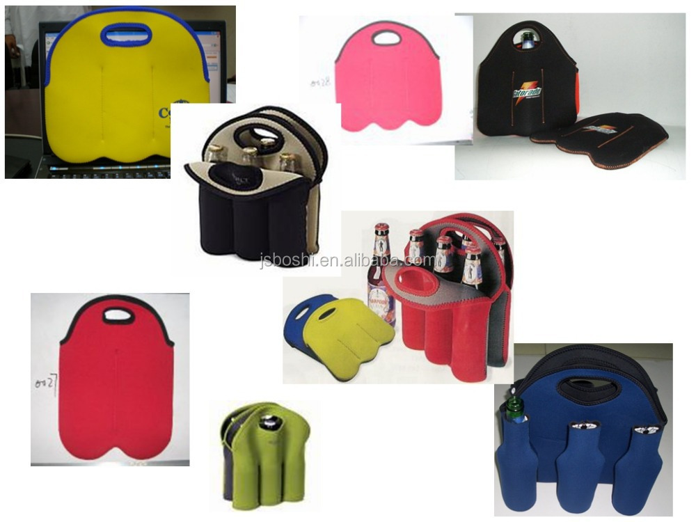 neoprene fabric floating beer can cooler holder