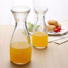 350ml / 500ml lead - free trumpet glass juice Ice orange bottle