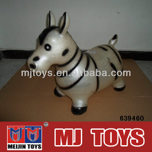 rubber inflatable animal musical baby ride on animal
