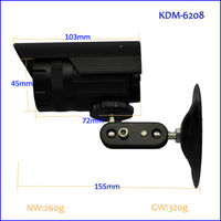 Kaydmay 20m ir ccd outdoor waterproof camera protection cover