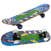 2406C-1VC4828A chinese maple wooden four wheel kid nice design mini skateboard