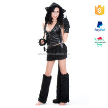Free Shipping High Quality Cat Fur Sexy Costumes Animals Women