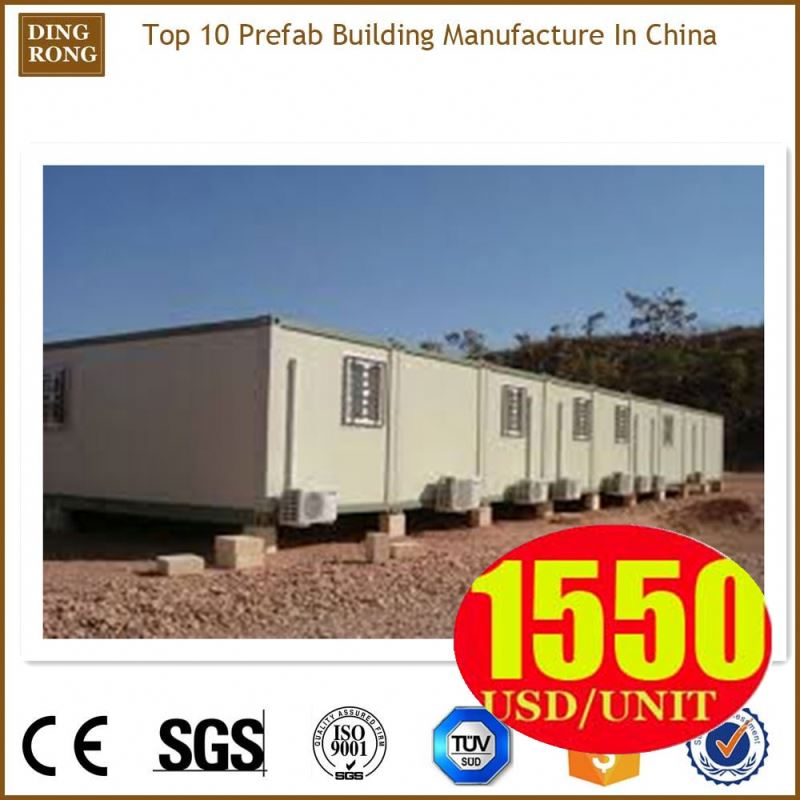 40 feet self contained luxury european pre-made container house