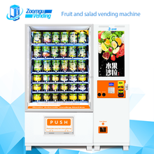 Touch screen egg salad vending machine business