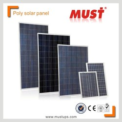 Poly PV panel/Solar Panel System High Efficiency 300W Poly Solar Panel Manufacturer in China