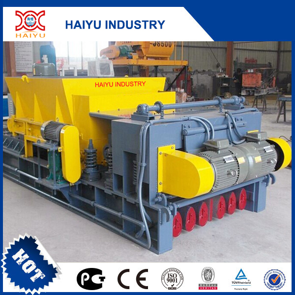 Precast concrete hollow core slab forming making machine/precast concrete machine