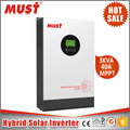 Solar inverter generator system 4kva 5kva Solar Powered Inverter Air Conditioner and Generator