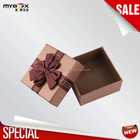 chocolate ribbon box designed gift box