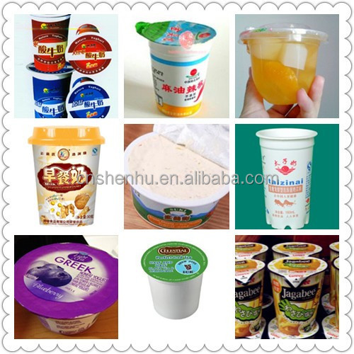 Automatic high speed rotary ice cream cup filling machine