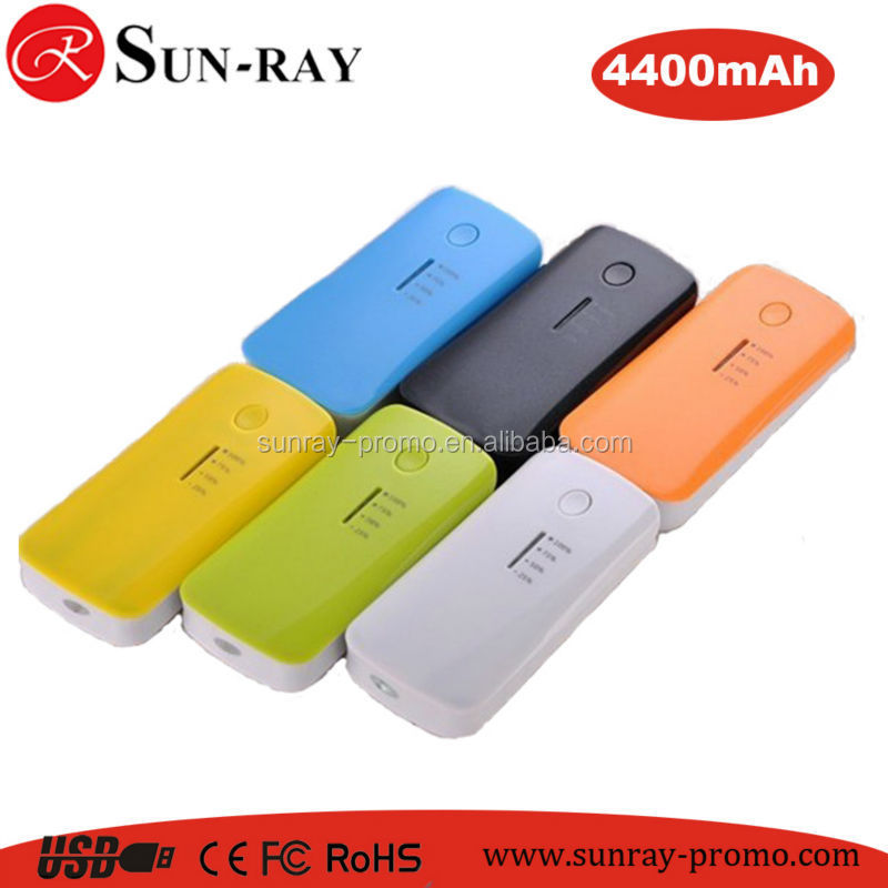 4400mah Power bank from shenzhen Factory with High quality and CE,ROHS