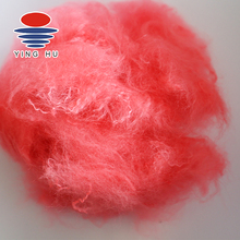 Wine Red Pet Recycled Polyester Staple Fiber
