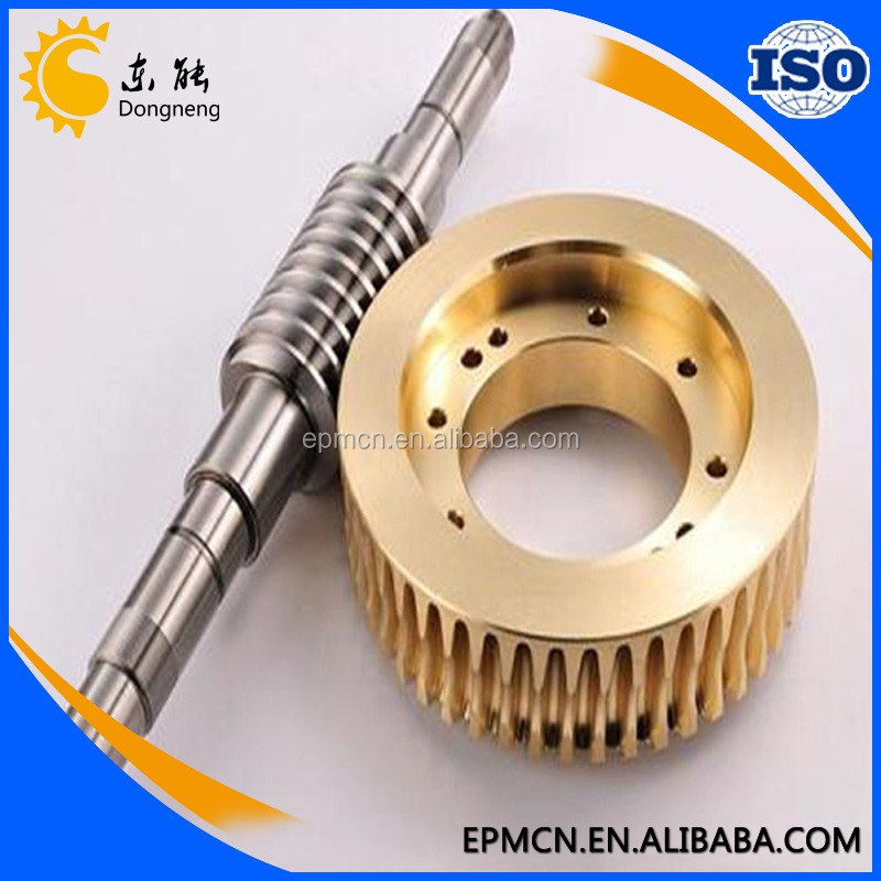 Factory Best Brass Elevator Mini Micro Spur Worm Gear Shaft Price