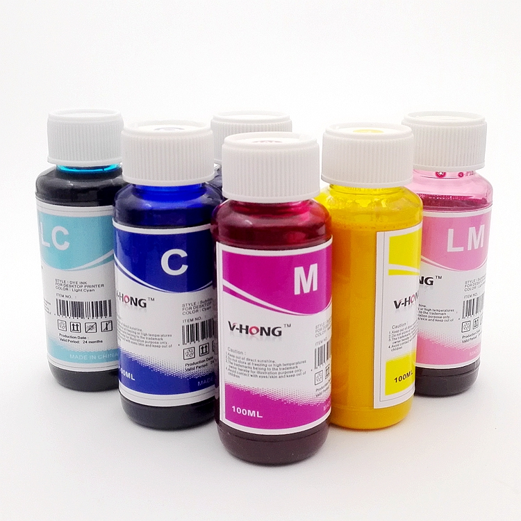 100ML Korea R1390 R330 printer DYE Sublimation heat transfer paper ink