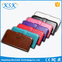 factory produce smart wallet flip case leather case with money pocket card slot for Sony Z2 Z3 Z4