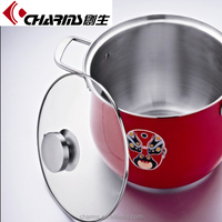 Large Chinese-style Stainless Steel Pot
