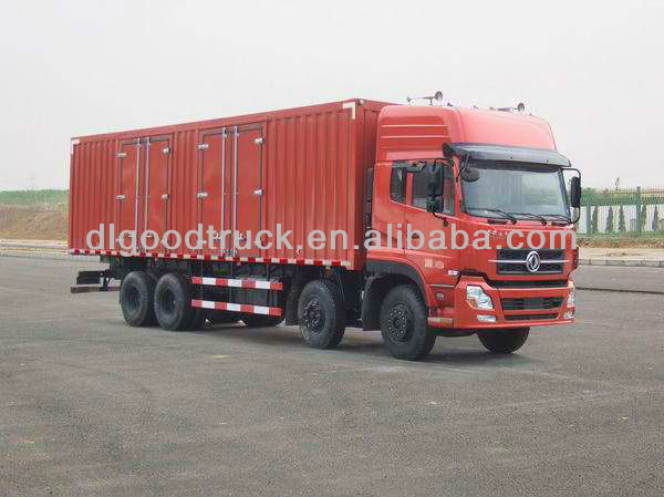 18Tons Dongfeng 8x4 heavy duty van transport vehicle