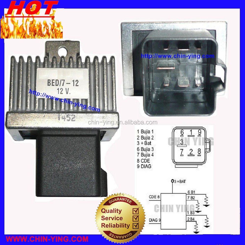 GLOW PLUG RELAY For NISSAN 7700115078 91167210