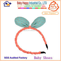 MOQ 50/mix 5color wholesale headmade baby cotton headbands