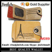 For Sale Designer Fashion PU Leather Men Casual Clutch Wallet