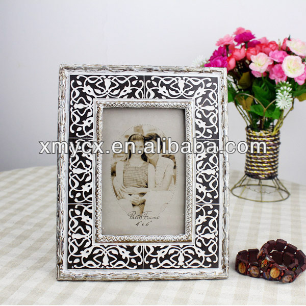 Bedroom decoration resin hot sexy photo frame