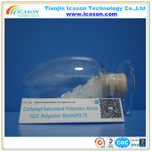 polyester resin unsaturated for marble / polyester resin for hybrid powder coating
