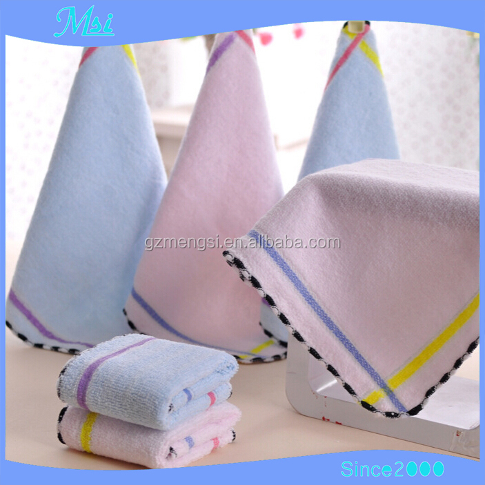 Whosale softtextile square baby towel, softtextile microfibre baby hood towel