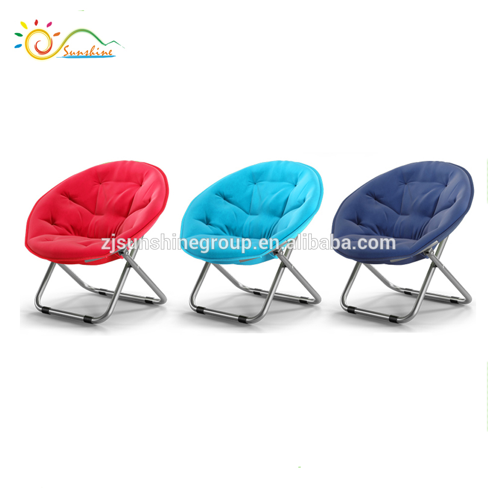 Fabric outdoor adult planet chair folding moon lounge chair