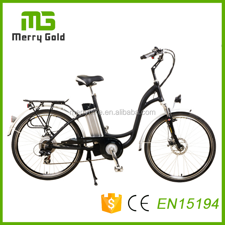 peacock 250w city electric bike united cheap road bikes with lithium battery