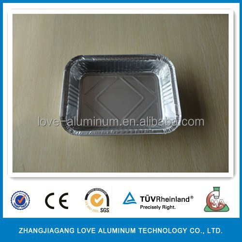 Household Environmental Rectangular Tin Foil Trays