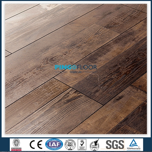PINGO Engineering Super High Gloss Laminate Flooring For Household