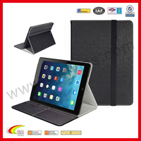 WYIPD-ABB030 Slim Hard Shell Leather Case High Quality Leather Hot Case for iPad 5 Cover