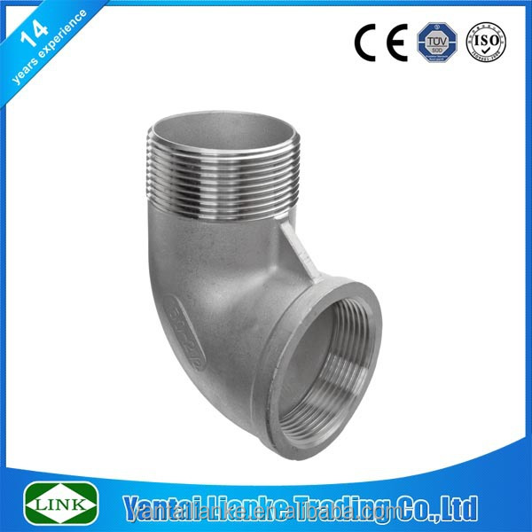 High pressure fitting stainless steel elbow pipe