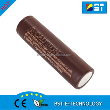 Authentic New Choco LG HG2 3000mAh 18650 battery lgdbhg218650 Li ion cell