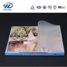 Three-layers pet+eva transparent glossy stretch laminating film