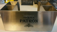 Patron Tequila Mental bar caddy/Napkin Holder