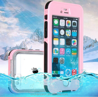 Waterproof shockproof dustproof universal mobile phone case cover with fingerprint version for iphone 4 5 6 6s 6plus CO-WPF-110