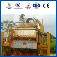 Rotary Gold Drum Washing Machine/Gold Trommel Screen/Ghana Gold Mining With High Recovery Rate For Sale From SINOLINKING