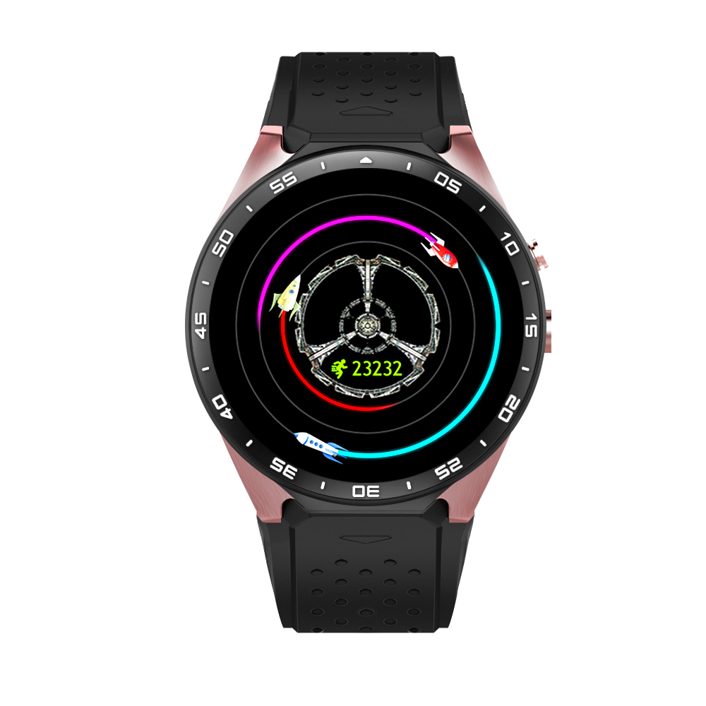 3G WIFI gps camera watch mobile phone KW88